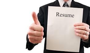 Composing a resume