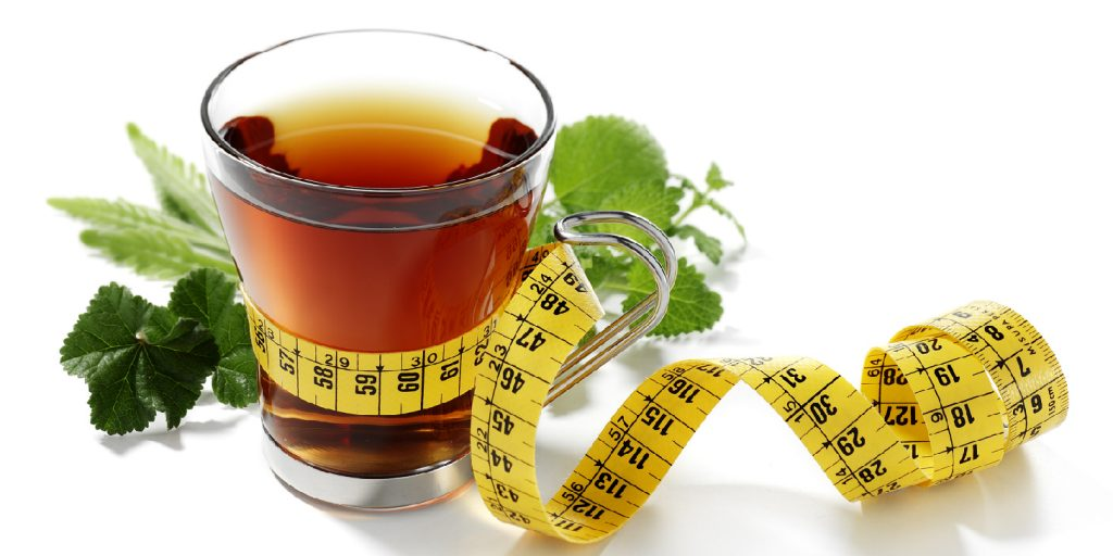 weight with tea