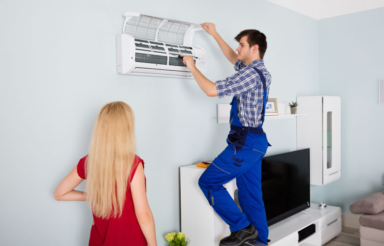 cabinet air conditioner service
