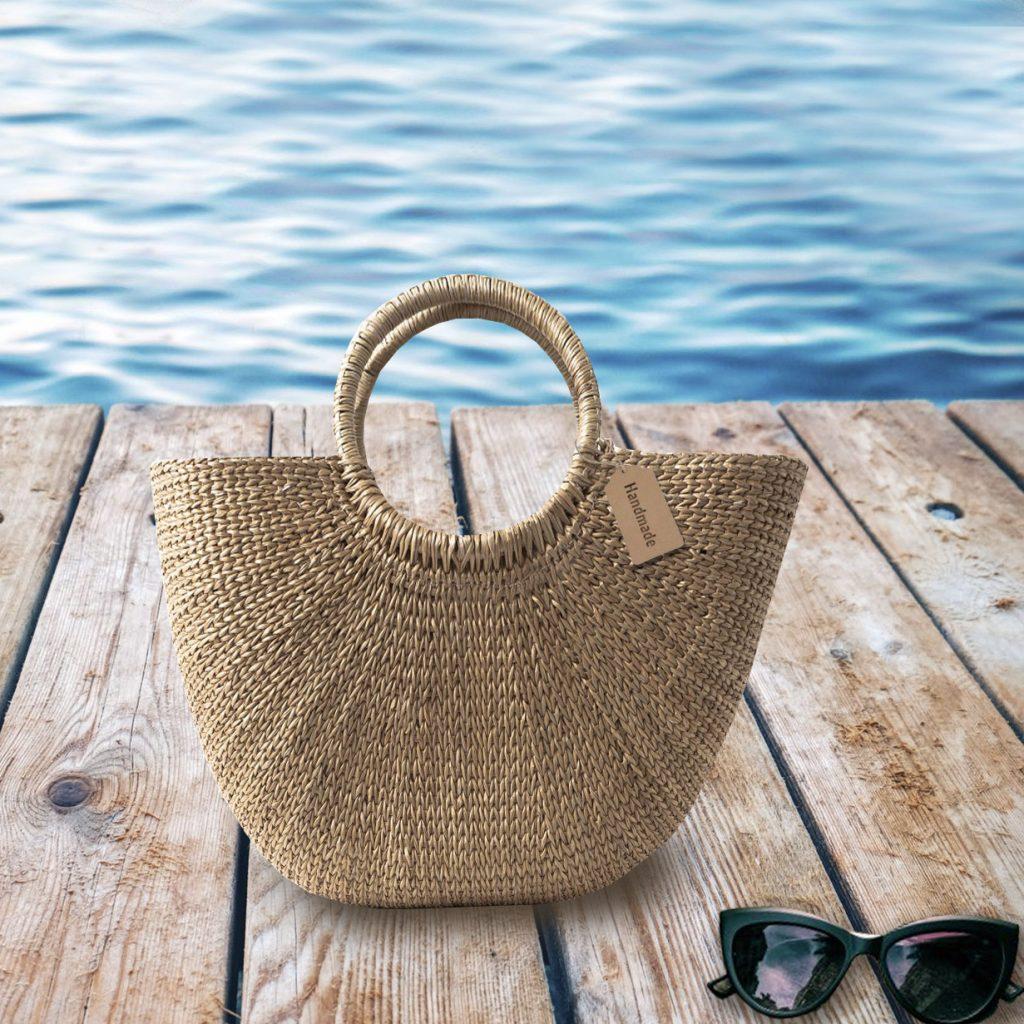 Luxury beach bags